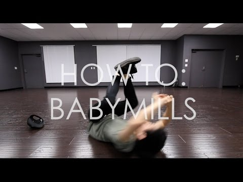 HOW TO BREAKDANCE: BABYMILL TUTORIAL IN 60 SECOND (power Move)
