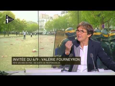 Valérie Fourneyron, ministre des sports, sur le PSG