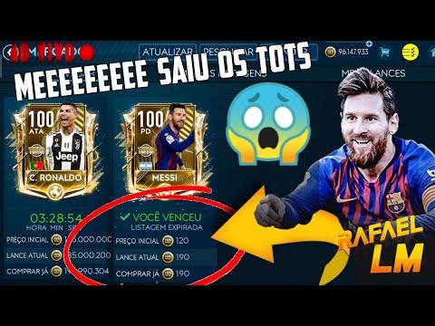 FIFA 19 MOBILE MERCADO COM OS TOTS ESTA BUGADO AO VIVO!!!