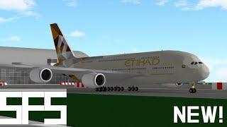 Roblox ground crew team! | SFS Flight Simulator