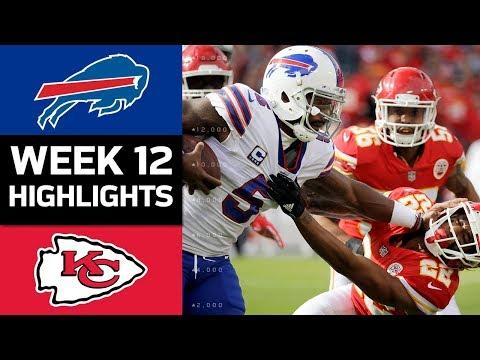 Bills vs. Chiefs   NFL Week 12 Game Highlights