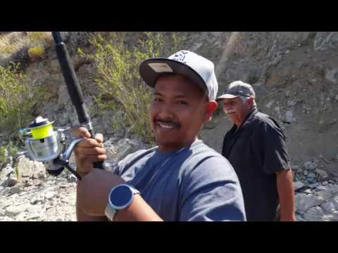 Silverwood Lake Fishing At The Dam.fishing Time Catching