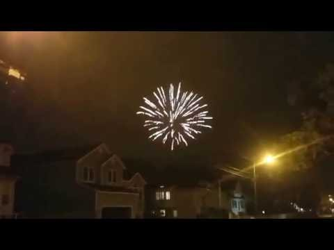 Watching A Lot Of Fireworks From Our Neighborhood in Freeport