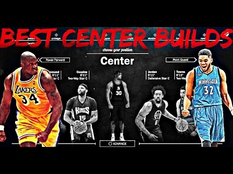 NBA 2K17 BEST CENTER BUILD - HOW TO CREATE THE ULTIMATE CENTER IN 2K17!!
