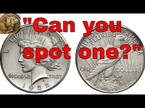 How To Spot A High Relief Peace Dollar