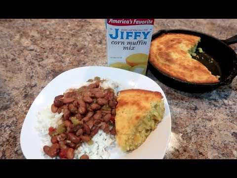 Mexican Cornbread using Jiffy Mix