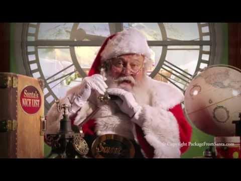 Free Phone Call from Santa APP! - Greeting from Santa Claus!