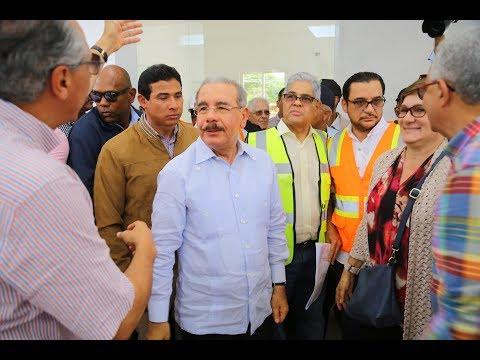 Danilo supervisa planta de lácteos en Hato Mayor