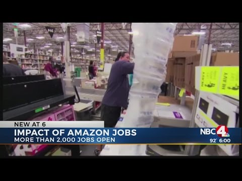 Amazon fulfillment centers could have big impact in central Ohio