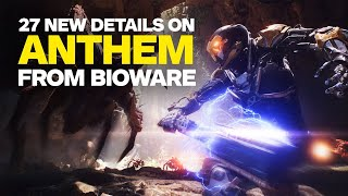 27 New Anthem Details We Learned From BioWare