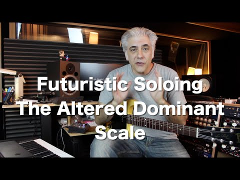 Futuristic Guitar Soloing - The Altered Dominant Scale | Guitar Lessons