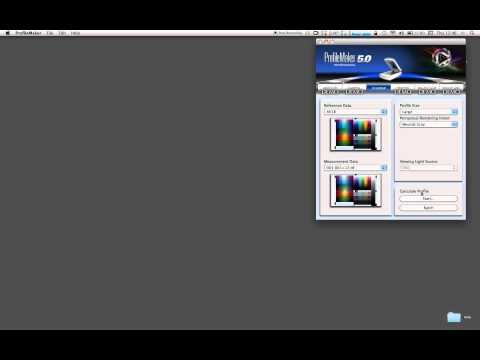 hasselblad scanner profiling using profilemaker