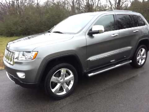 Sold..2011 Jeep Grand Grand Cherokee Overland Summit 4x4 1Owner Call  888 653 8056