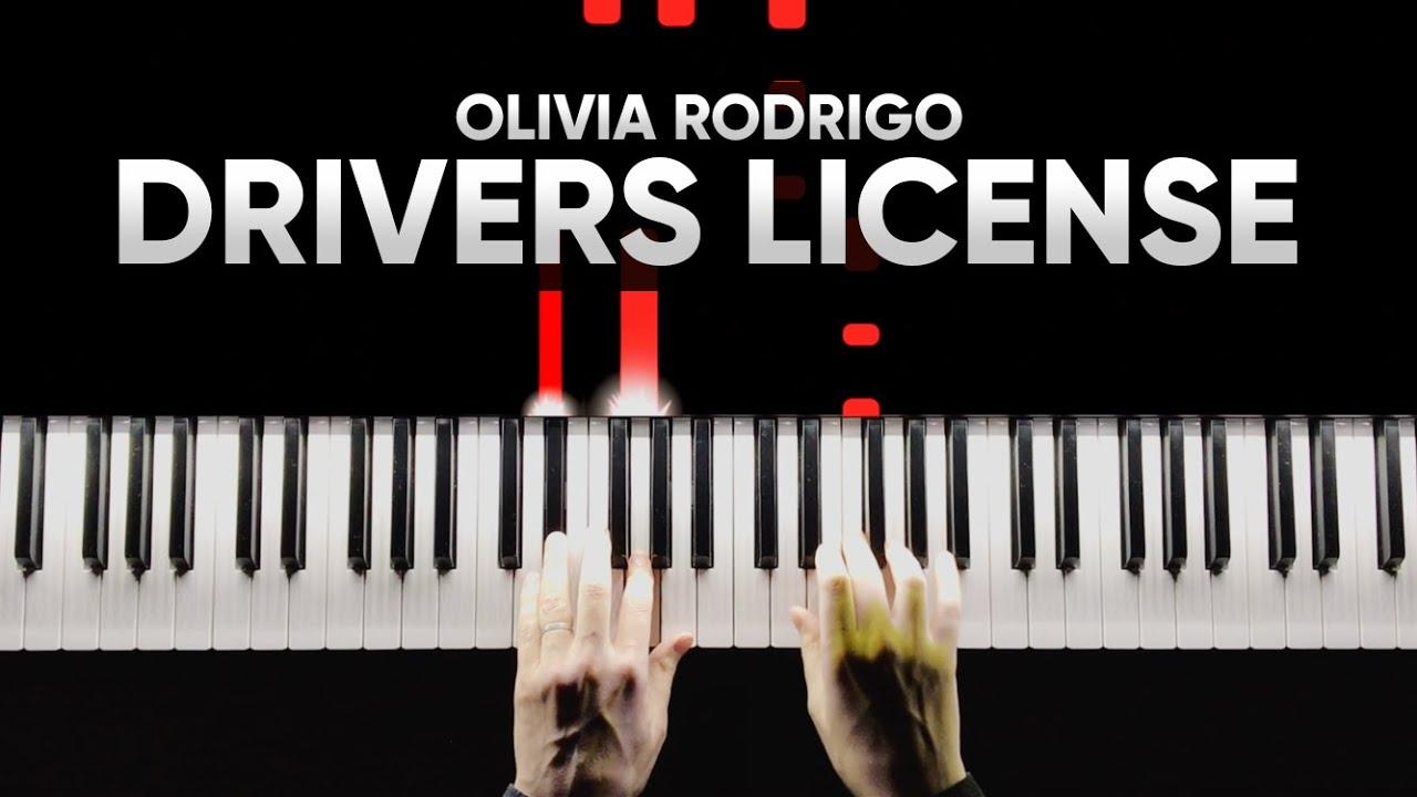 Olivia Rodrigo - Drivers License | Piano Cover | На Пианино