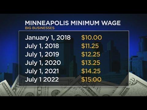 Minneapolis Pushing Bill For $15 Minimum Wage