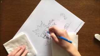 Comment dessiner naruto bijuu 3 et naruto ( shippuden )