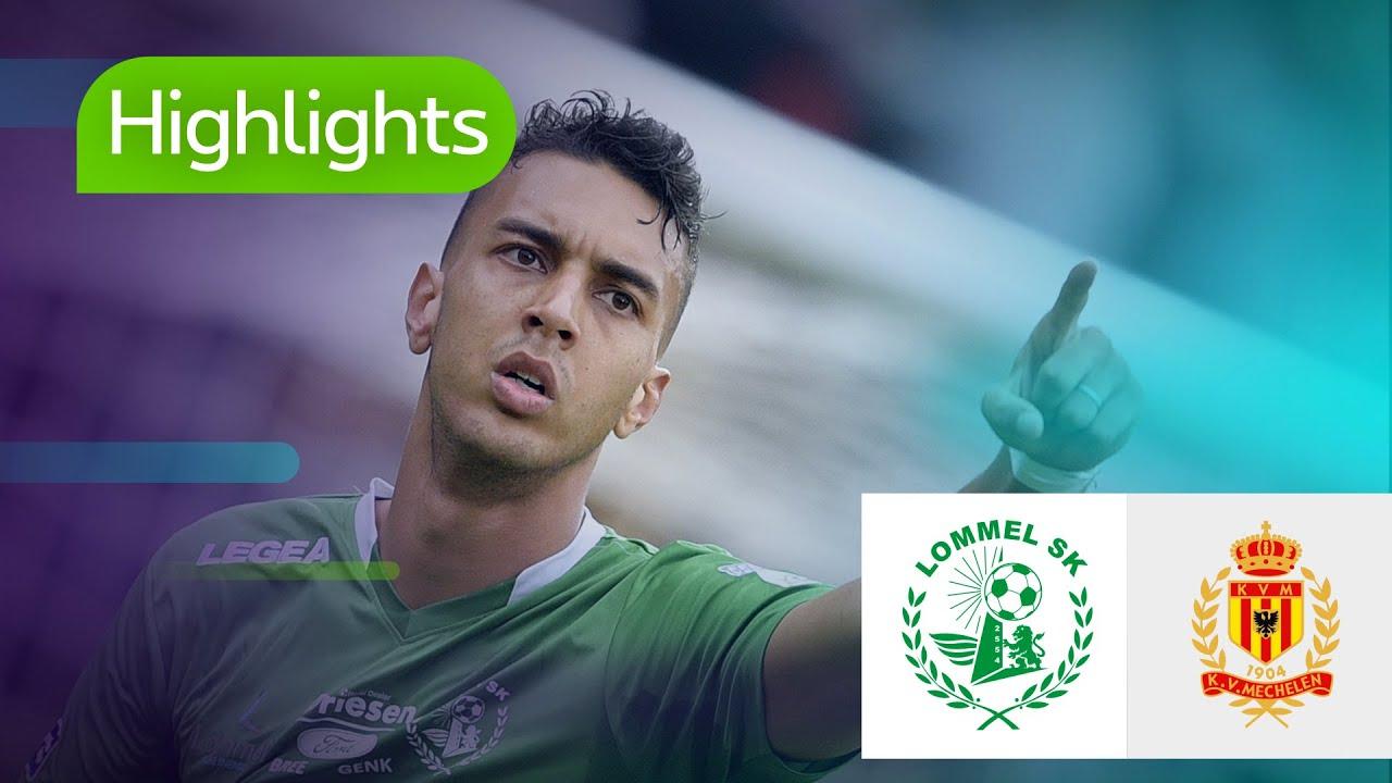 HIGHLIGHTS NL / Lommel SK - KV Mechelen (29/09/2018) - YouTube