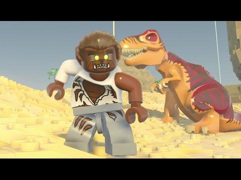 LEGO Worlds (PS4) - Werewolf Unlock Quest (With Coordinates) + Gameplay