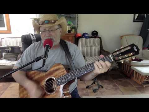 1874 -  Step By Step -  Eddie Rabbit vocal & acoustic guitar cover with chords