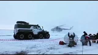 Уникальный российский вездеход «Шаман» принял участие в поиске экипажа МКС