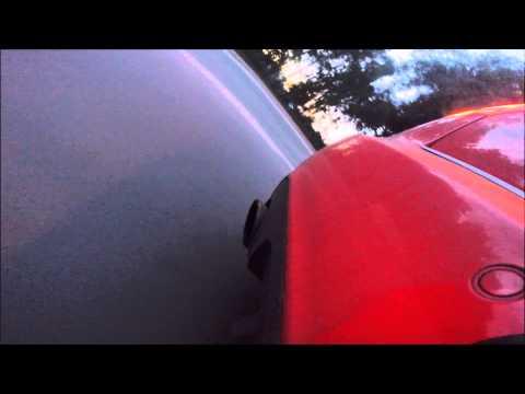 выхлоп под нагрузкой))) небольшое видео  Audi A4 DTM