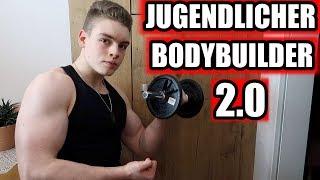 FITNESS ALLTAG EINES JUGENDLICHEN BODYBUILDER 2.0
