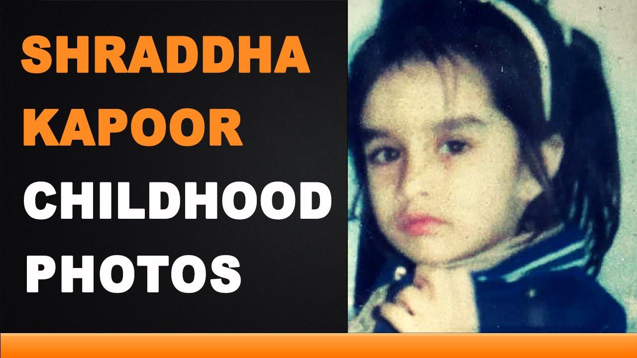 Shraddha Kapoor Childhood Photos - YouTube