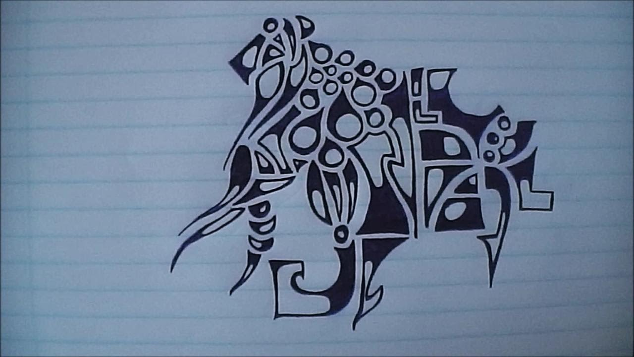Dibujo abstracto youtube for Imagenes de cuadros abstractos faciles