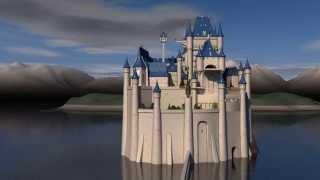 Castle Of Cagliostro 3d Model 360 Test