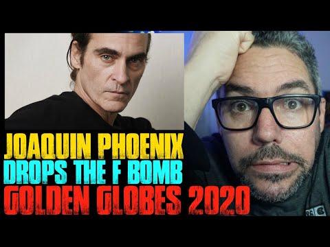 Joaquin Phoenix Drops F Bombs at Golden Globes 2020 Reaction