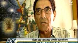 ENTREVISTA A GRAL EP R JUAN ALATRISTA SOBRE  OPERACION CHAVIN DE HUANTAR