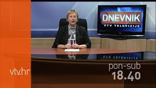 VTV Dnevnik najava 13. listopada 2017.