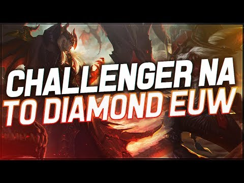 DYRUS   FROM CHALLENGER NA TO DIAMOND 3 EUW! - KLED AND SWAIN