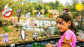 Большой московский зоопарк детям видео. Куда можно сходить с ребенком в Москве?