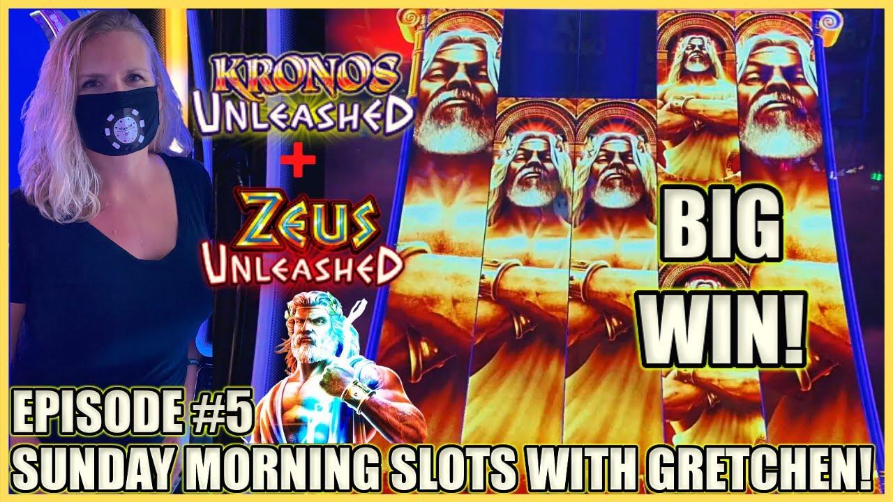🌅Kronos & Zeus Unleashed 🌅MAX BET Bonus Rounds 🌅SUNDAY MORNING SLOTS WITH GRETCHEN EPISODE #5 🌅