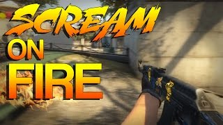 CS:GO - ScreaM on FIRE!
