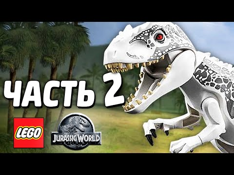 LEGO Jurassic World game 🎮 all VEHICLES demoed!