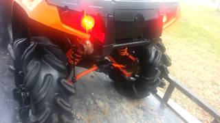 2011 Polaris sportsman 850xp Looney tuned exhaust