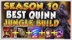 RANK 1 QUINN BEST JUNGLE BUILD FOR SEASON 10 (QUINN'S BEST JUNGLE META EVER!) - League of Legends