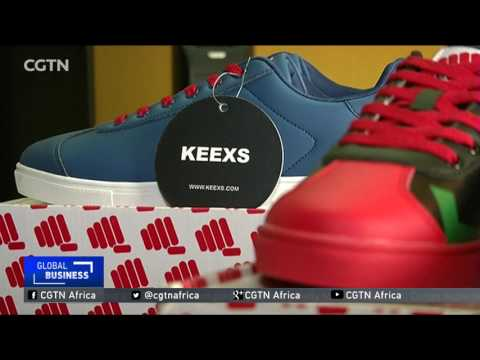 Nigerian designer creates cool sneakers for big feet thumbnail