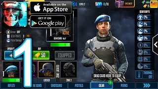 Sniper Strike: Special Ops Android iOS Walkthrough - Gameplay Part 1 - North Sea: Zone 01