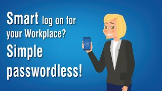 Smart log on for your workplace? Simple Passwordless! - AirID VIRTUAL