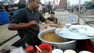 This Man Famous By Selling Delicious Haleem Recipe @ Tk 30 Best Street Food Dhaka