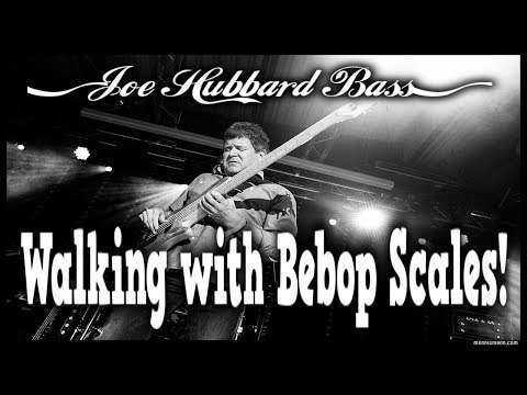 Walking with Bebop Scales | Grooving on the Bass Guitar