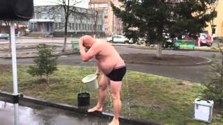 """Флеш-моб """"Зігрій солдата"""". м.Костопіль, 25.01.2015р."""