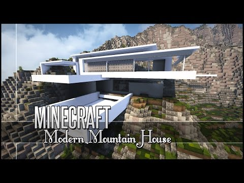 Minecraft: Let's Build - Modern Mountain House - Part 1