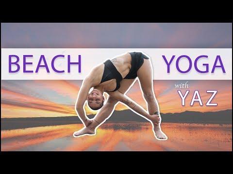 Beach Yoga Flow | Yazmin Harris