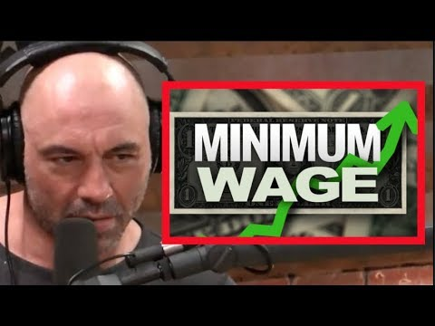 Joe Rogan - The Minimum Wage Destroys Jobs