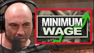 Joe Rogan - The Minimum Wage Destroys Jobs