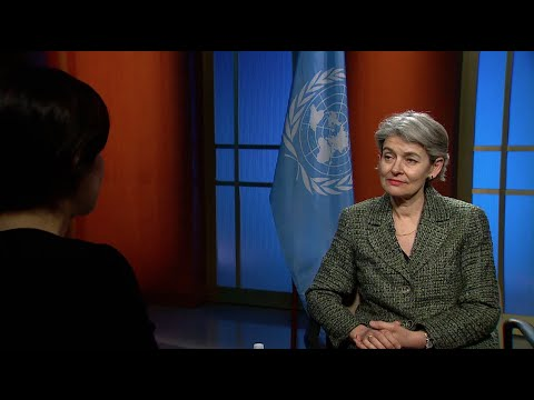 "Irina Bokova (UNESCO) on ""cultural cleansing"" of Iraq and Syria - Interview"
